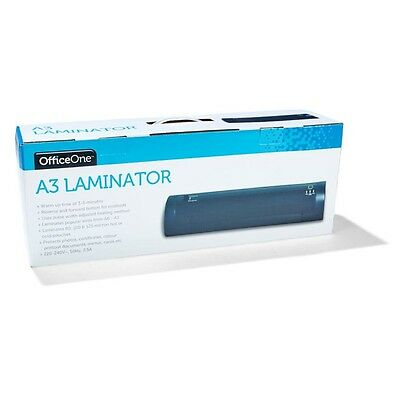 Black Laminator Laminating A6 A3 Machine Thermal Hot Cold Pouches Electric Black