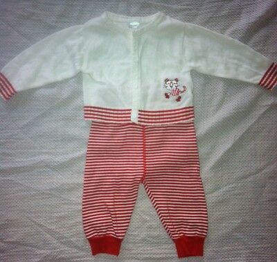 00 Unisex Baby Clothes. Pumpkin Patch Cardigan & Pants Set.