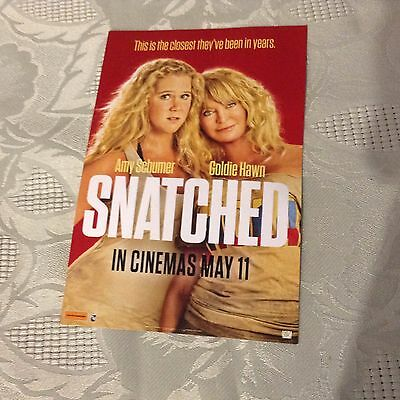 Snatched movie tix (X2)
