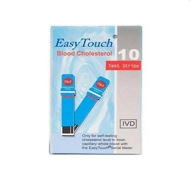 Easy Touch Easytouch Blood Cholesterol Test Strips Monitor Control Check Meter
