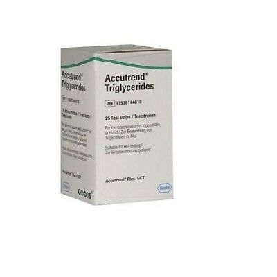 Accutrend Blood Triglyceride Test Strips Monitor Control Monitoring Testing