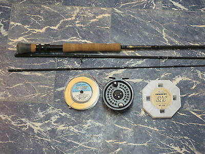 Penn International 1090 10 weight Fly Rod System 2 10/11 reel with 2 lines