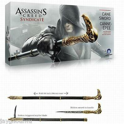 """36"""" 1/1 Scale Assassin Syndicate Jacob's Weapon Cane Cosplay Props PVC"""
