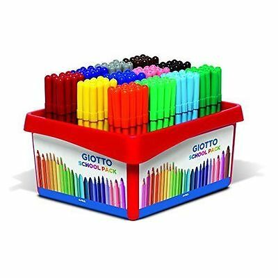 Giotto Turbo Color Markers 144 School Pack Made in Italy
