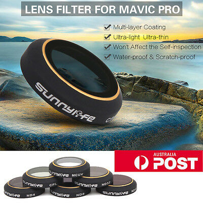 HD Lens Filters Gimbal Camera Accessorie for DJI MAVIC PRO