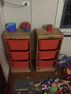 2 X ikea Toy Storage Unit