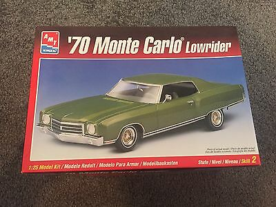 1:25 Scale AMT MONTE CARLO LOWRIDER MODEL KIT - LAST TIME LISTED