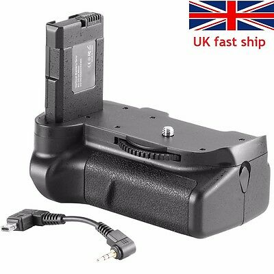 Neewer Power Battery Hand Grip as BG-2G for Nikon D5100 D5200 D5300 Camera UK