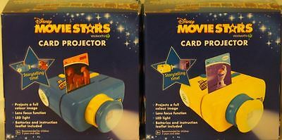 2 PROJECTORS for Disney Movie Stars Cards Woolworths-NEW IN BOX -*FREE POSTAGE*