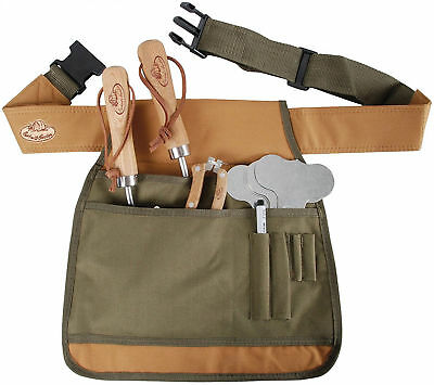 Adjustable Garden Tool Belt Handy Cuttings Bag Sturdy Comfortable Apron Quality