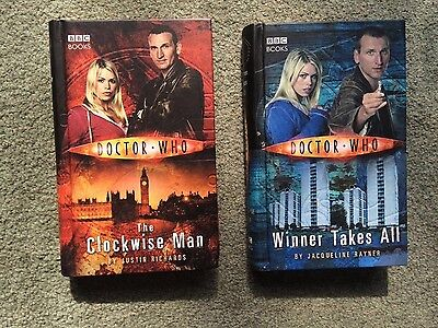 Dr Who hardback, Winner Takes All & The Clockwise Man