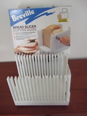 BREVILLE BREAD SLICER for CUT HOME MADE or SHOP BREAD .CUT EVENLY
