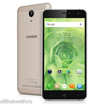"""6.0"""" 16GB Doogee X7 4Core Android 6.0 Smartphone 2SIM téléphone 8MP Quick Charge"""