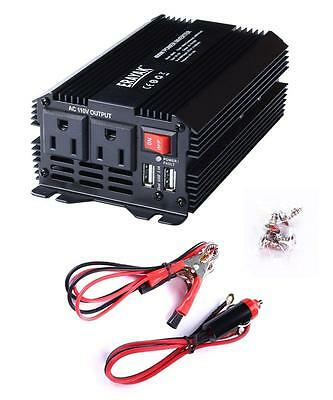 ERAYAK 400W Power Inverter Dual US Outlets,3.1A USB Charging Ports w Car...
