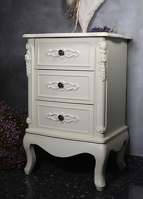 Bedside Table Nightstand Chest Of Drawers Bedroom Boudoir Marie Antoinette Style