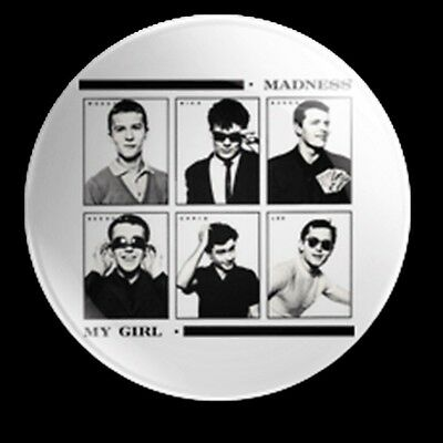 Madness My Girl Single 25Mm Button Badge 2 Tone Ska