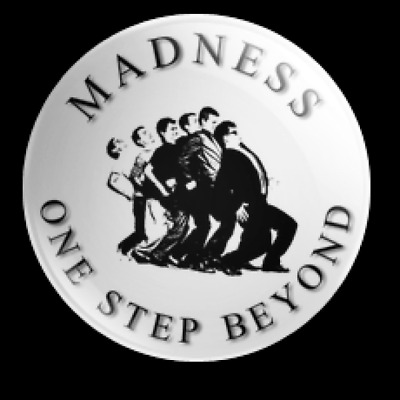 Madness One Step Beyond 25Mm Button Badge 2 Tone Ska