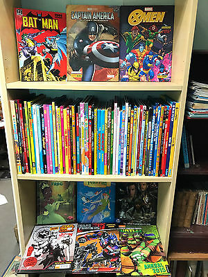 Job Lot Collection of 60+ Modern Children Annuals, Great Range and Variety