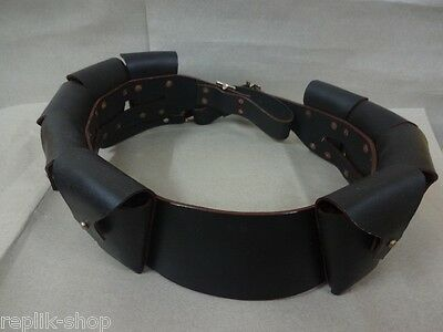 Light Horse Wwi 1903 Pattern Leather Light Horse Cavalry Bandolier Replica