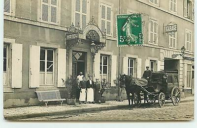 Carte-Photo de NEVERS - Grand Hôtel de Nièvre
