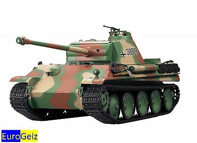 RC Battle Tank - German Panther Type G - with Shot Function - 1:16 - HL 3879