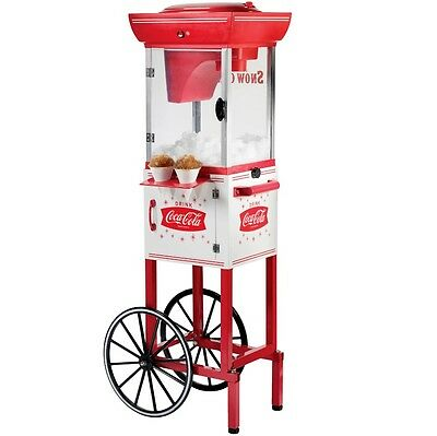 Movie Theme Decor Snow Cone Machine Cart Electric Home Theater Party Supplies