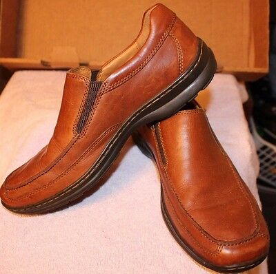Nice Men's Loafers by Born Mens sz 8.5 Brown Leather Casual Dressy Loafer