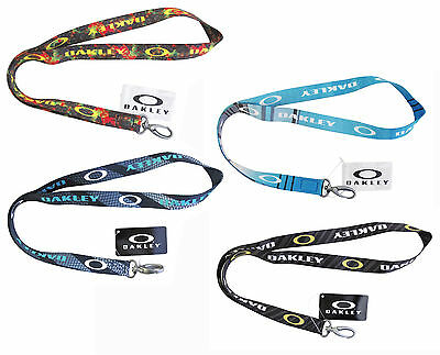 Brand New Oakley Printed Lanyard - 99413 Pick Color !