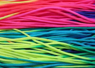 100FT Colorful 550 Paracord Parachute Cord Lanyard Mil Spec Type 7 Strand Core