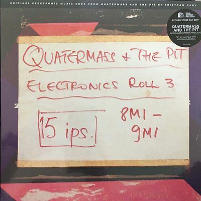 """QUARTERMASS AND THE PIT Electronic Cues 10"""" Vinyl EP NEW RSD 2017"""