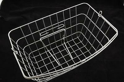 Caprice Shopper Large Wire Bicycle Front Basket Ideal For Dutch Style Bikes