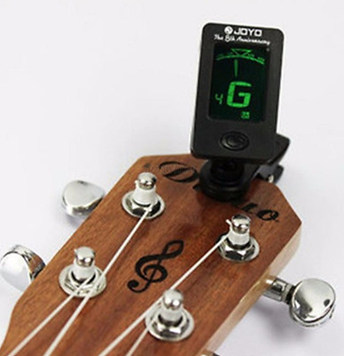 Digital Electronic Guitar Tuner Violin Bass Clip Chromatic Snark Ukulele Lcd New