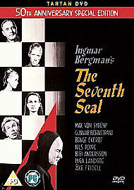 The Seventh Seal ( 50Th Anniversary Edition )    Brand New Sealed Genuine Uk Dvd