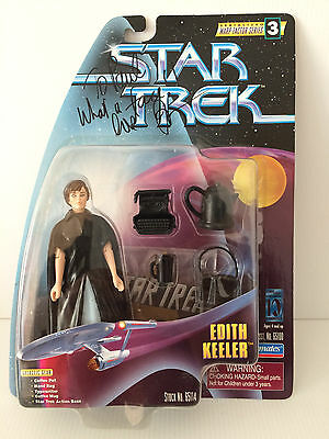 JOAN COLLINS - STAR TREK - DOLL PERSONALLY SIGNED BY JOAN COLLINS 'To Paul'