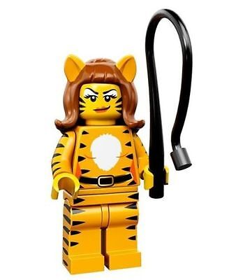 LEGO MINIFIGURES SERIES 14 Tiger Woman - Woman Tiger 71010 Monsters New / New