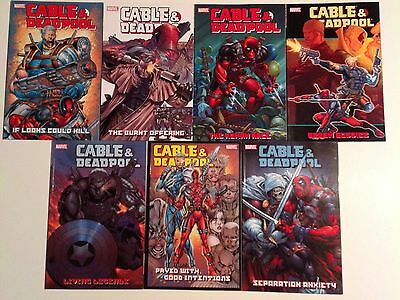 Cable & Deadpool Graphic Novel Collection Collecting #1-42 In 7 Books X-men