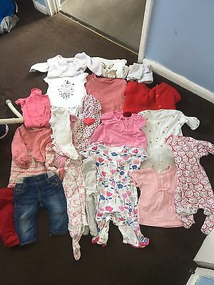0-3 Month Baby Girl Clothes Bundle