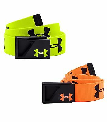 Under Armour Boy's UA Range Webbed Adjustable Youth Golf Belt - NWT