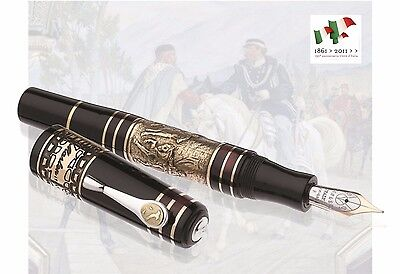 Marlen Risorgimento | Fountain Pen | Gold Nib | Limited Ed. | Made in Italy