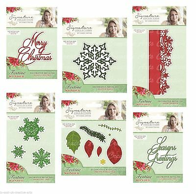 Crafters Companion Sara Davies Festive Wonder Collection - Choose Dies And More