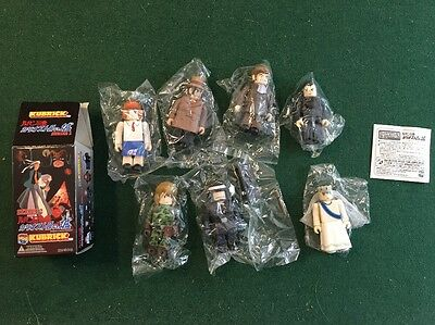 Lupin the 3rd Kubrick Series 2 Complete Toy Set W/ Ultra Rare Chase Figure