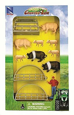 Nuovo Ray - 0432025 - Figurine Animal Set - Country Life - colore casuale