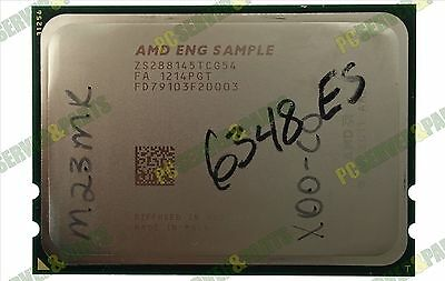 AMD Eng Sample ZS288145TCG54 6348 ES 12-Core 2.8GHz 16MB L3 Cache CPU Processor