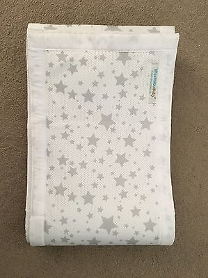 Breathable Star Crib/ Cot Liner