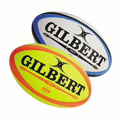 Gilbert Omega Match Quality Rugby Ball - Official Size 5