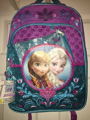 Disney Frozen Backpack School Bag Elsa And Anna New With Tags
