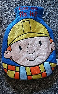 Excellent condition Bob the builder hot water bottle and cover