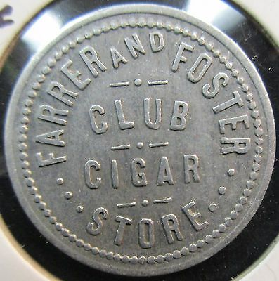 Trade Token: Corner Cigar Store Rockland, Idaho With Free Shipping!!!