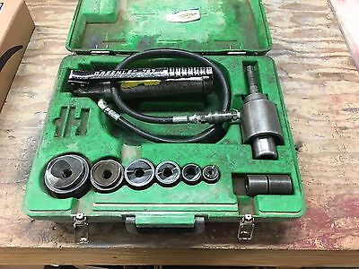 """Greenlee 7306Sb Knockout Punch Set 1/2"""" To 2"""" Slug Buster Punches"""