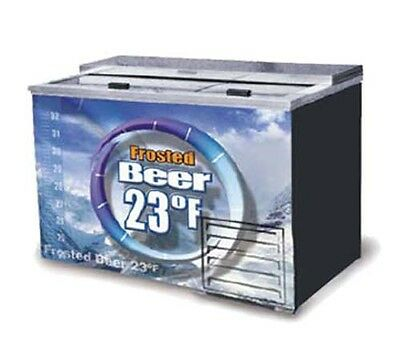 Fogel Horizontal Beer Froster Two-Section Underbar - FROSTER-B-50-US